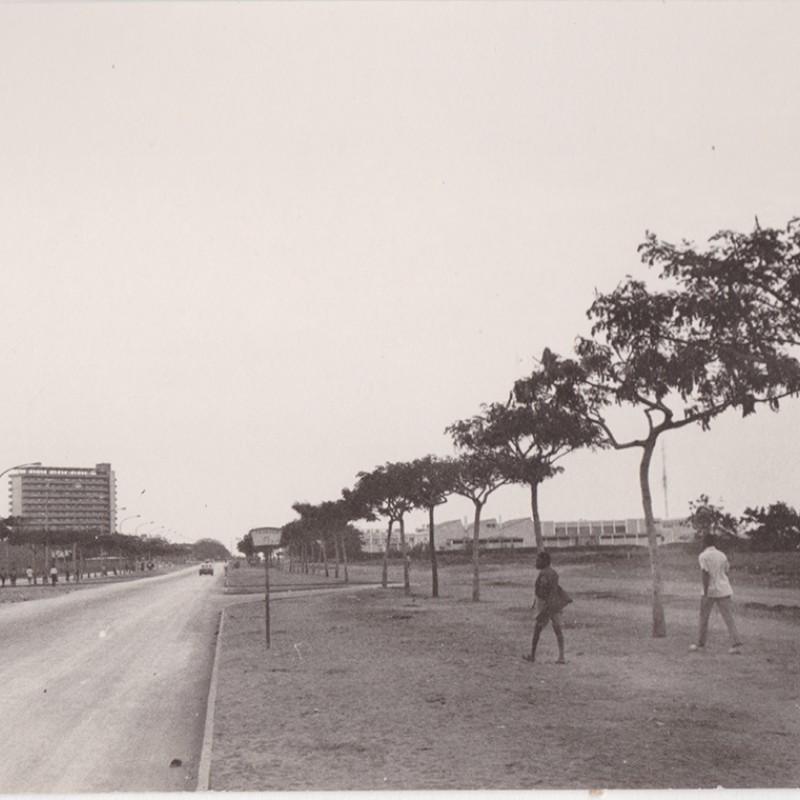 Edifício do Serviço Postal Militar em Luanda