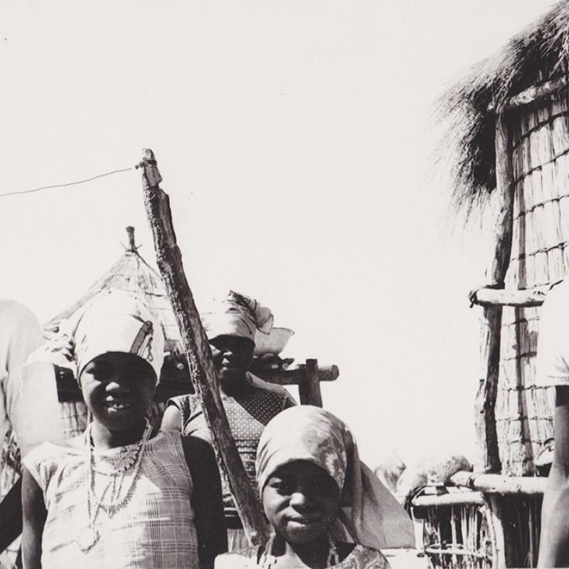 Aldeia no Cazombo
