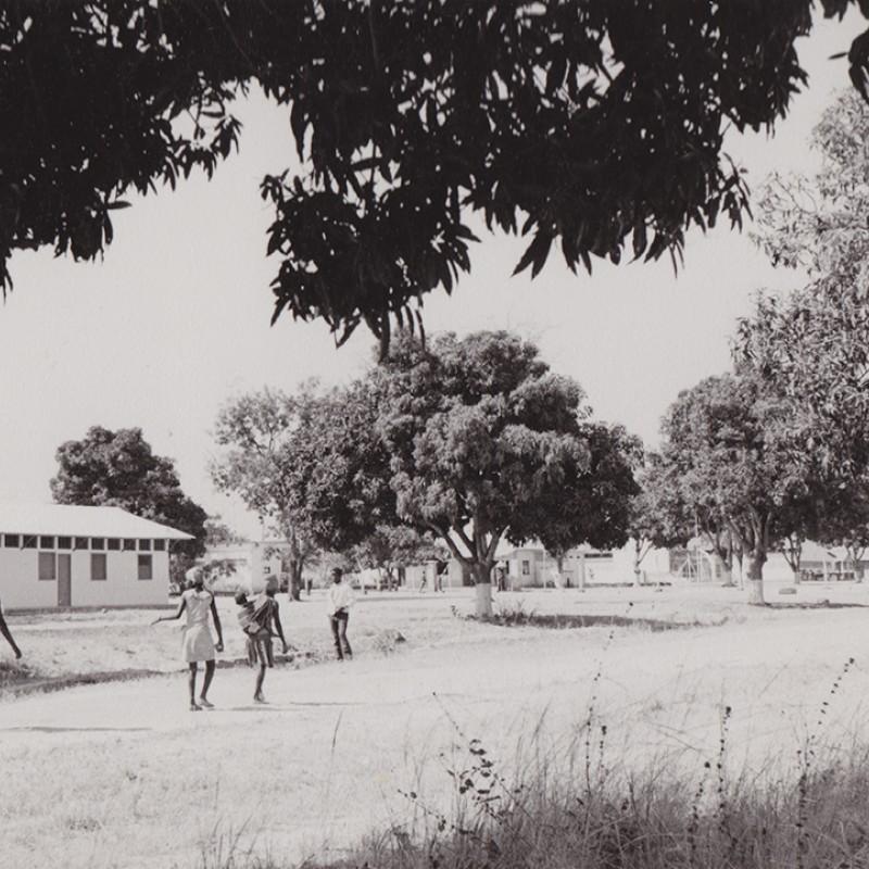 Quartel no Cazombo