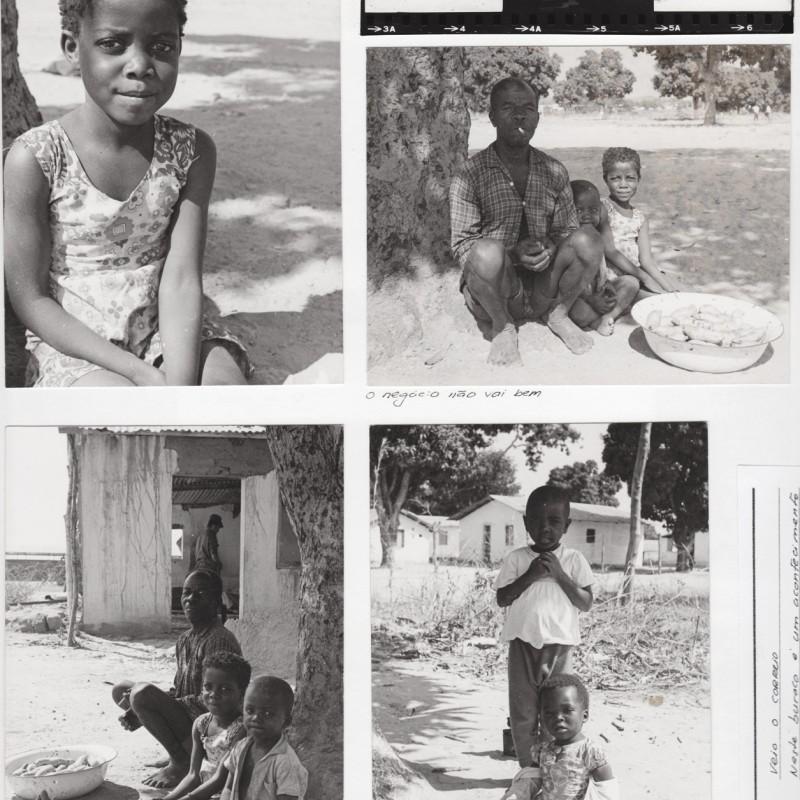 Família em aldeia