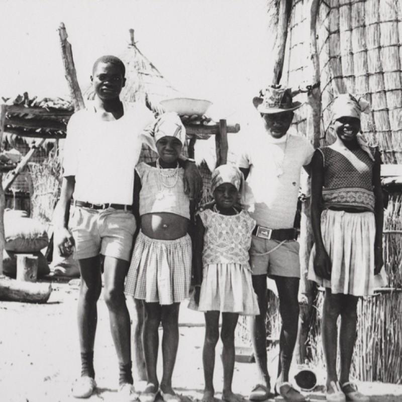 Grupo em Mavinga