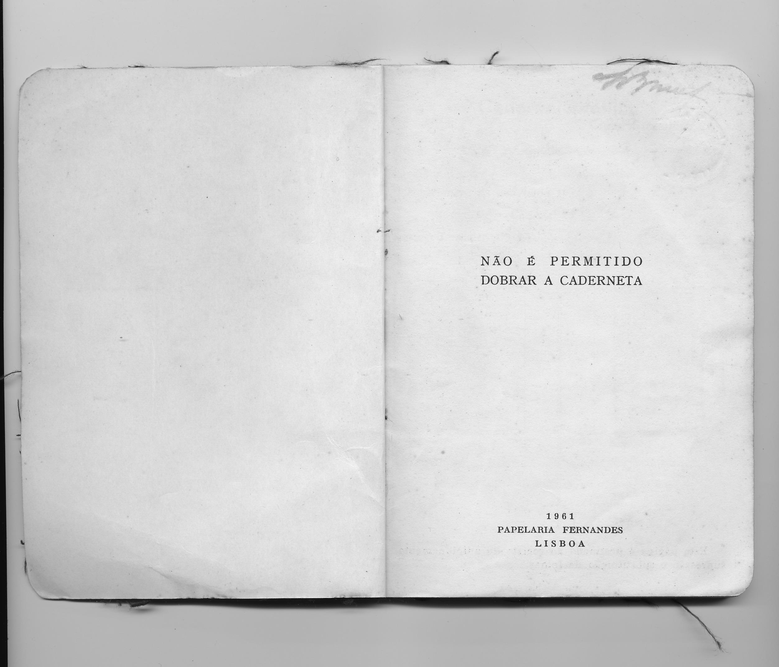 Caderneta Militar (abertura)