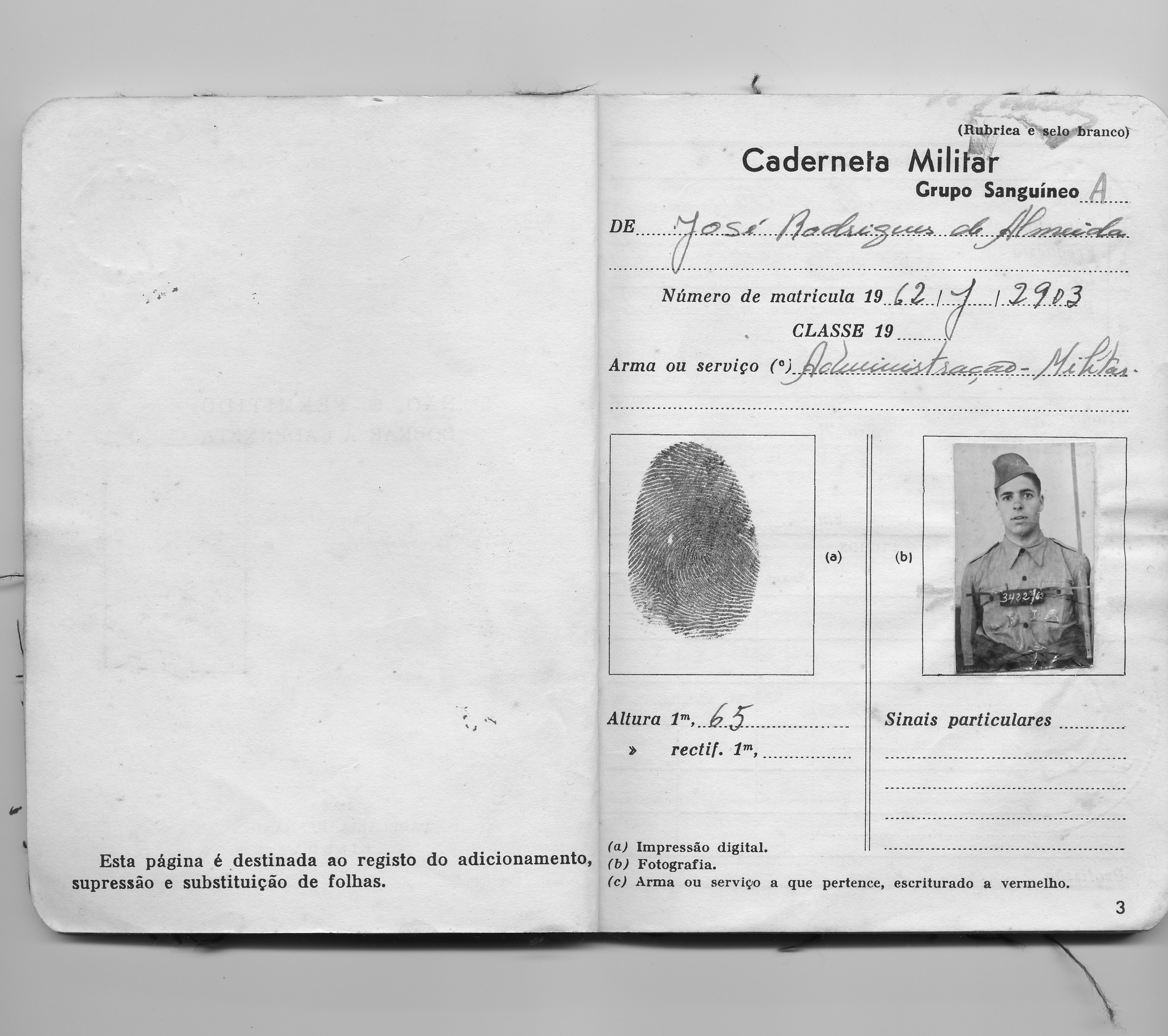 Caderneta Militar