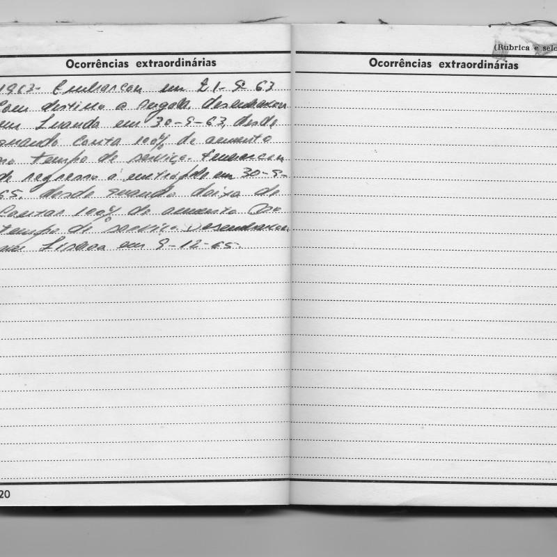 Caderneta Militar (página)
